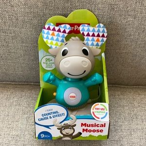 isher-Price® Linkimals™ Musical Moose Songs Lights